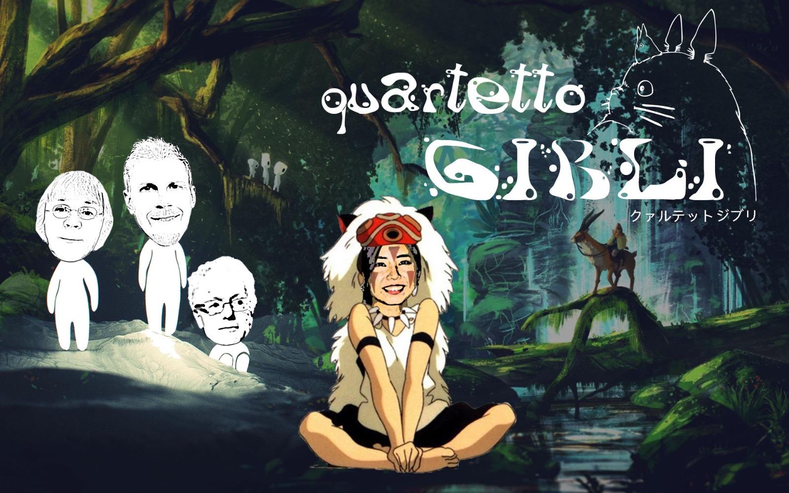 QUARTETTO GIBLI (Soundtracks)