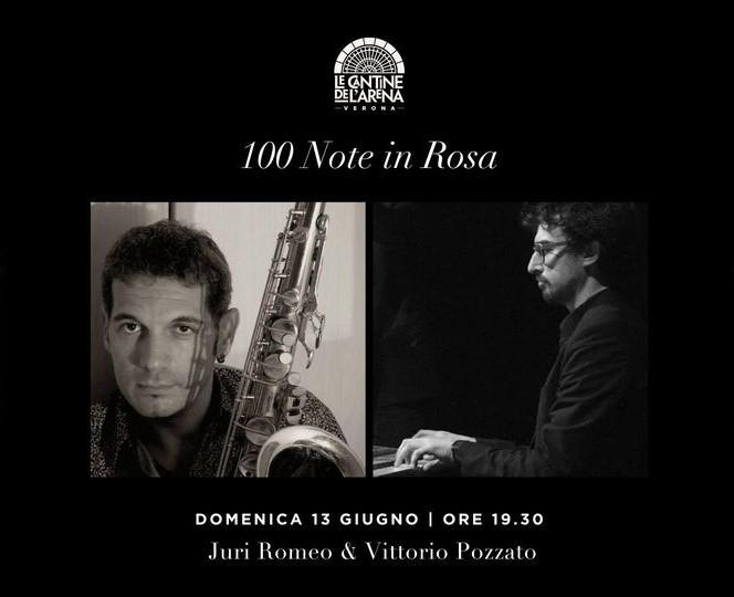 100 Note in Rosa: VITTORIO POZZATO & JURI ROMEO