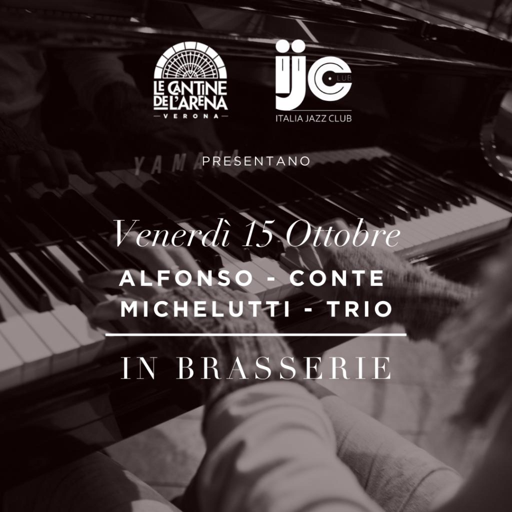 "GIORNATA NAZIONALE DEI JAZZ CLUB ""Italia Jazz Club"" presenta: ALFONSO-CONTE-MICHELUTTI TRIO (Jazz)"